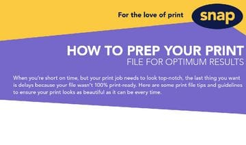 How to prep your print file for optimum results